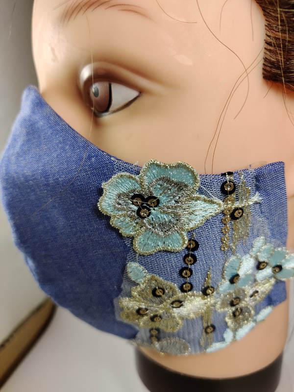 Fashion elegant lace fcae mask