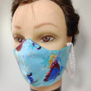 Elsa face mask