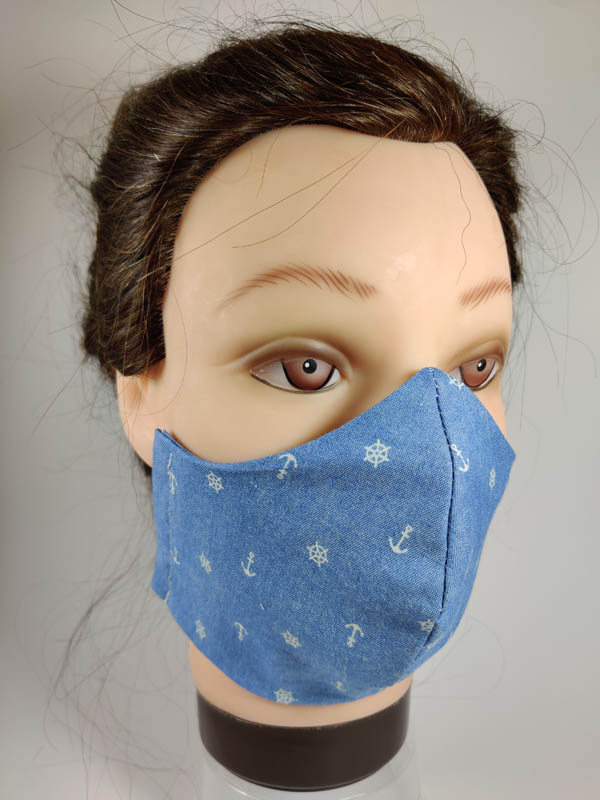 Jeans Anchor face mask