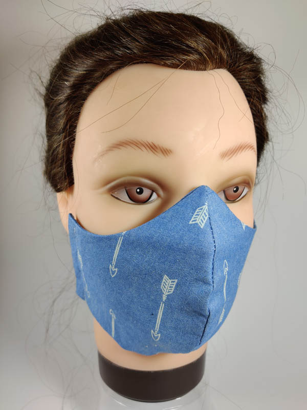 Jeans Arrows face mask