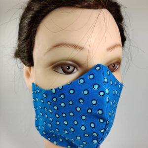 Light Blue Circles mask