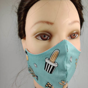 Sabra Cactus face mask