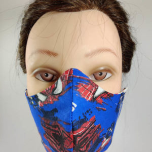 Spider Cartoon face mask
