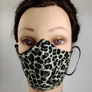 Tiger style face mask