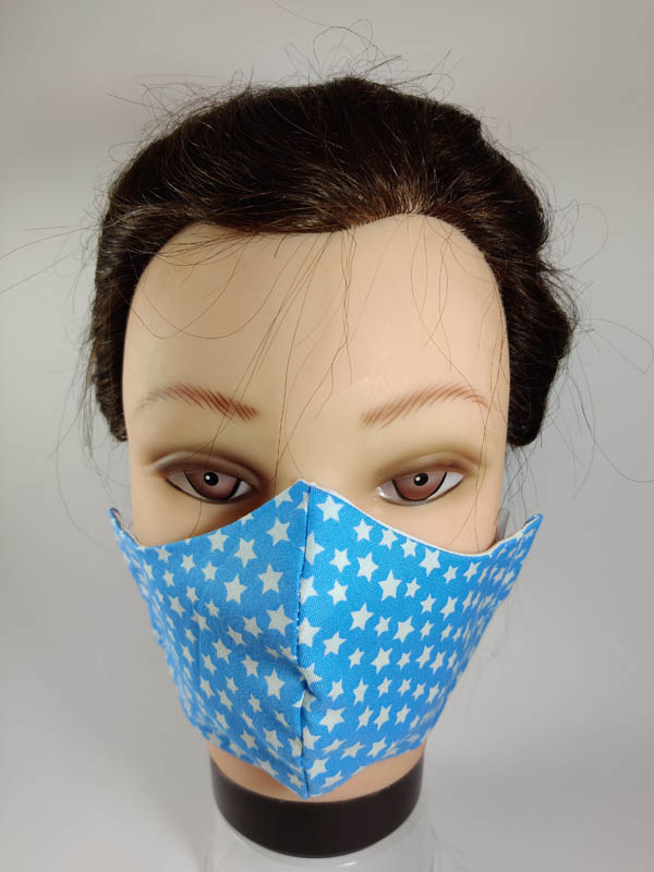 White dots face mask