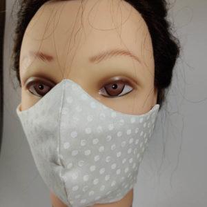 White Dots Mask