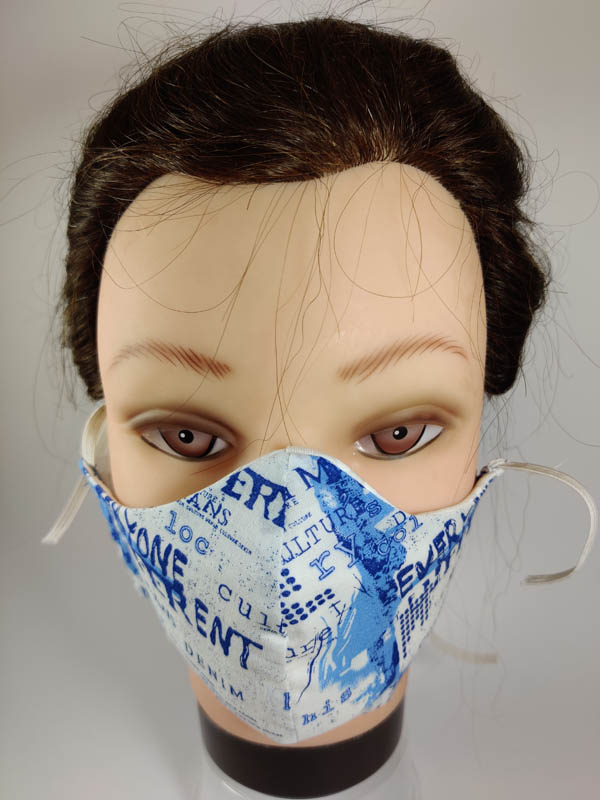 Light Blue Style Mask