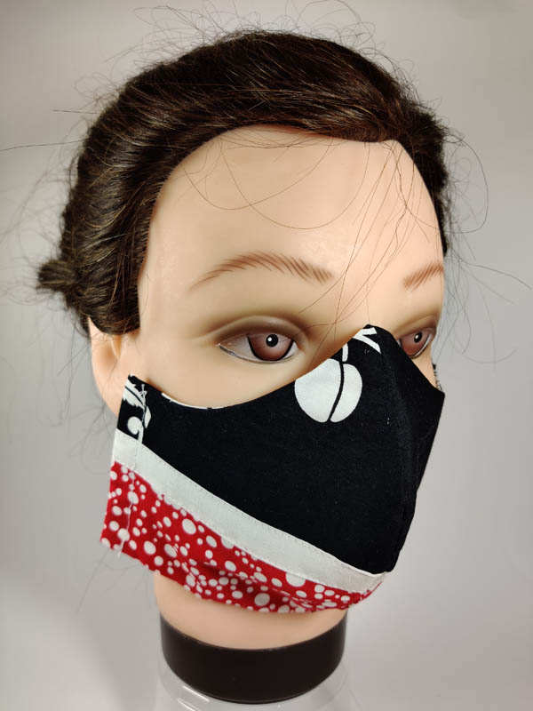 double sided cotton mask